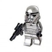 Chrome Stormtrooper (Lego 10th Anniversary Limited Edition [2009]) Lego Star Wars Minifigure by LEGO