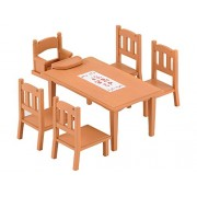 SYLVANIAN FAMILIES - FURNITURE - Family Table and Chairs - 4506