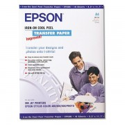 PAPEL TRANSFER TELA A4 EPSON 10 HOJAS C13S041154