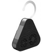 Pyle Haut-parleur Bluetooth Etanche sans fil à 3 Voies pour Douche/Piscine Noir