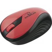 Mouse Esperanza Titanum Rainbow, Wireless (Rosu)