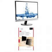 """AOC I2369VM 23"""" IPS Monitor and 3M Privacy Filter"""