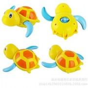 MagicW Swimming Turtle Swimming Tub Pool Toy Small Animal Wind Up Turtle Bath Toys Waterproof Funny Bathroom Bathing Toy