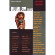 Indian Law Stories by Carole Goldberg
