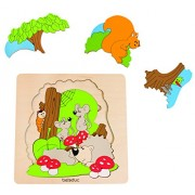 Hape 17510 - Puzzle Discovery Foresta