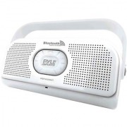 PYLE PBTW20WT Surf Sound 2-In-1 Waterproof Wireless Bluetooth Stereo Speaker & Microphone for Call Answering White