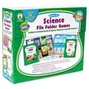 Science File Folder Games Grades K - 1 Educational Board Game by Carson-Dellosa