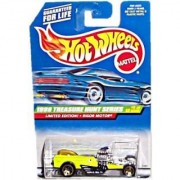 Hot Wheels - Mattel Wheels - Limited Edition Treasure Hunt Series (1999) - Rigor Motor (Lime Green) - #4 of 12 - Collect