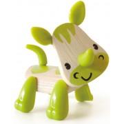 Hape Mini-mals Rhino Bamboo Play Figure