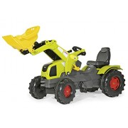 rolly juguetes rollyFarmtrac 611041, tractor CLAAS Axos 340 con cargador