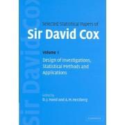 Selected Statistical Papers of Sir David Cox 2 Volume Hardback Set by David Cox