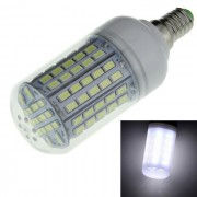 E14 lampara del bulbo del maiz de 9W LED blanco azulado 1200lm 96-SMD 5730 (AC220 ~ 240V)