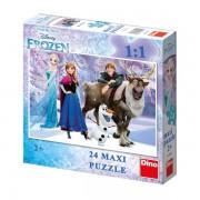 Puzzle de podea - Frozen (24 piese)