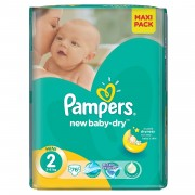 Scutece Pampers New Baby 2 Value Pack 76 buc