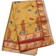 Kuthampully Special Kasavu Mayil designer saree