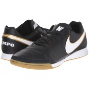 Nike Tiempo Genio II Leather IC BlackWhite