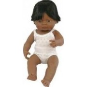 Papusa Baby hispanic baiat Miniland 38cm