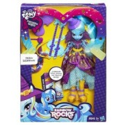 Papusa My Little Pony Equestria Girls Rocks Trixie Lulamoon cu Accesorii