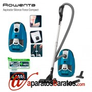 Rowenta Aspirador Silence Force Compact Electric Blue RO6331