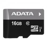 Card memorie microSDHC ADATA Premier 16GB UHS-I U1 Class 10