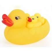 pack of 2 Rubber Duck Family Bath Set (Set of 4) - Floating Bath Tub Toy -2 packs