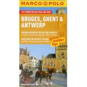 Bruges, Ghent & Antwerp Marco Polo Guide by Marco Polo