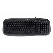 Tastatura Multimedia USB Genius KB-M200, Black (31310049102)