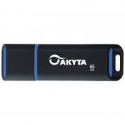 Memorie USB Akyta Kyoto Line 16GB USB 2.0 Black Blue