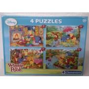 Clementoni Winnie the Pooh 4 Puzzles 2 x 20 + 2 x 60