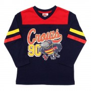 AFL Toddler Script Long sleeve Tee Adelaide Crows [Size:4]
