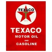 """""""Sign - Texaco Star On Red"""""""