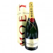 Champagne Moet & Chandon Brut Imperial, NV, 12% vol., Cutie Cadou, 1500 ml