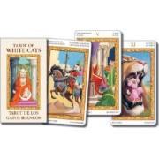Tarot of White Cats Mini by Lo Scarabeo