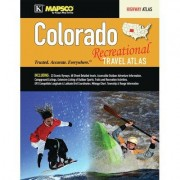Universal Map Colorado Recreational Road Atlas 10731