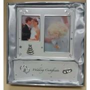 Házassági levél tartó és fotókeret