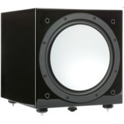 Boxe - Monitor Audio - Silver W-12 Black High Gloss