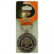 """""""Keychain - Harley Davidson Skull Gems"""""""