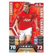 Match Attax Extra 2013/2014 Michael Carrick Game Changer 13/14
