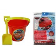 Disney Cars Sand Bucket and Shovel + Beach Ball Set by Unknown