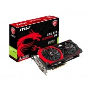 MSI GTX 970 GAMING 4G- Carte graphique - GF GTX 970 - 4 Go GDDR5 - PCIe 3.0 x16 - 2 x DVI, HDMI, DisplayPort