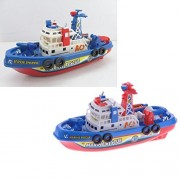 Liquor New Child Toy Boat Lovely Cute Pump Water Spray Ship Rescue Boat