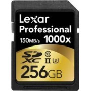 Card de Memorie Lexar Professional SDXC 1000x 256GB Clasa 10 UHS-II 150MBs