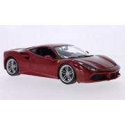 Ferrari 488 GTB, red, Bburago 1:24