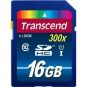 Card de Memorie Transcend SDHC 16GB Clasa 10 UHS-1 300x