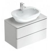 Mobilier pentru lavoar 80 cm alb lucios Ideal Standard gama SoftMood