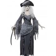 Costum Halloween femei pirata fantoma
