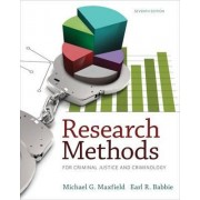 Research Methods for Criminal Justice and Criminology by Earl Babbie