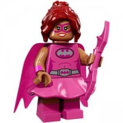 ФИЛМЪТ LEGO БАТМАН идентифицирана минифигурка - Розова Пауър Батгъръл, LEGO Batman Movie - Pink Power Batgirl, 71017-10