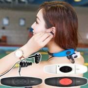 Diel STREAM IPX8-klassade hörlurar med MP3-spelare & FM-radio 8GB - Svart