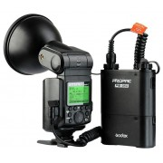 Godox Witstro AD-360II I-TTL Nikon mare teljesítményű bliț set, cu acumulator